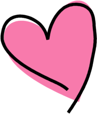 Olive Brunette Heart