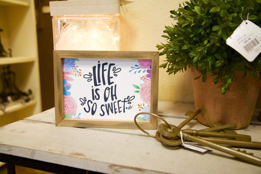 Life is Sweet Home Decor