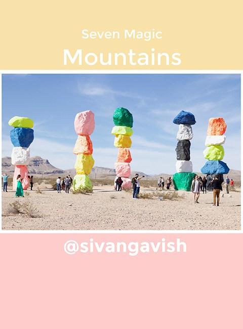 SevenMagicMountainsLasVegasNevada