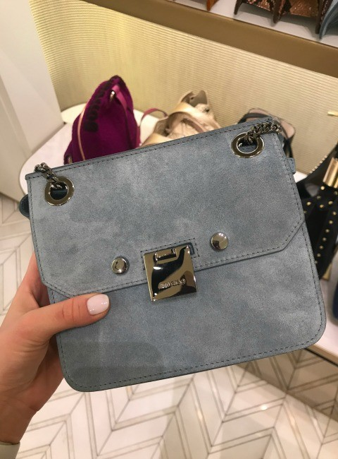 Jimmy Choo Blue Bag