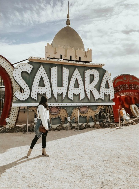Sahara Picture at Neon Museum