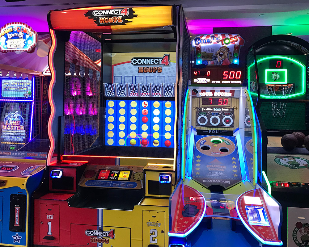 Arcade games in Vegas