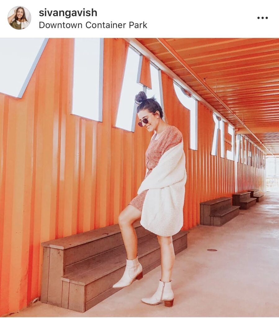 Downtown Container Park Instagram Picture